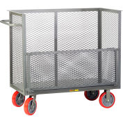 "Little Giant® Bulk Truck CARD-3048-8PY with Removable Drop Gate 30"" x 48"""