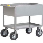 """Little Giant® Cushion Load Deep Shelf Truck DS2448-X12-10SR, 12"""" Deep, 24 x 48"""