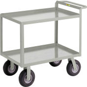 "Little Giant® Instrument Cart with Hand Guard 24"" x 48"""