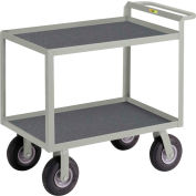 "Little Giant® Instrument Cart with Hand Guard and Non-Slip Vinyl Mat 30"" x 48"""