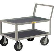Little Giant® Low Deck Instrument Cart, Retaining Lip Top, 24 x 36