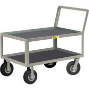 Little Giant® Low Deck Instrument Cart w/Non-Slip Vinyl Shelf Surface, 24 x 48