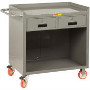 "Little Giant MC-2436-2DRTL  36"" W Mobile Bench Cabinet, 2 Drawers"