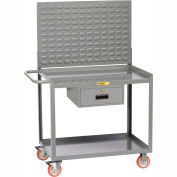 "Little Giant MW2436-5TL-DRLP 36""W x 24""D Mobile Workstation with Storage Drawer, 2 Shelves"