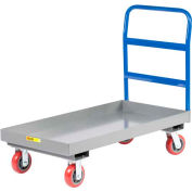 "Little Giant® 3"" Lip Edge Platform Truck NBX3-2448-6PY - 24 x 48"