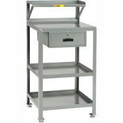 "Little Giant PSR-2436-LLDR Shop Desk, 24""' x 36"", Storage Drawer, 2000 lbs. Capacity"