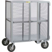 Little Giant® Job Site Security Box Truck with Center Shelf SC-2448-10SR, 24 x 48