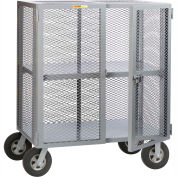 Little Giant® Job Site Security Box Truck with Adjustable Center Shelf SC-A-2460-10SR, 24 x 60