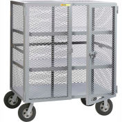 Little Giant® Job Site Security Box Truck with 2 Center Shelves SC2-3048-10SR, 30 x 48