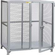 "Little Giant® Welded Storage Locker, Mesh Sides, 49""W x 33""D x 52""H"