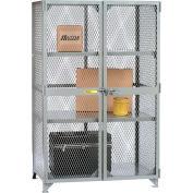 """Little Giant® All-Welded Storage Locker - 3 Center Shelves - 49""""W x 33""""D x 78""""H"""