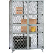 "Little Giant® All-Welded Storage Locker - 3 Center Shelves - 73""W x 33""D x 78""H"