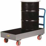 Little Giant® Spill Control Cart SSB512566-6PYBK - 2-Drum - 66 Gallon Capacity