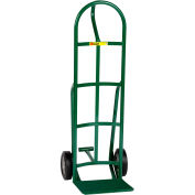 """Little Giant® Reinforced Nose Hand Truck TF-240-8S 8"""" Rubber with Foot Kick & Loop Handle"""