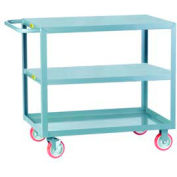 Little Giant® All Welded Service Cart 3LG-2436-BRK, Flush Top & Middle, 24 x 36