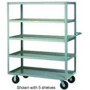Little Giant® Multi-Shelf Truck 4ML-2448-6PH, 4 Lip Shelves, 24 x 48