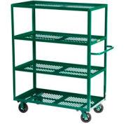 Little Giant® Multi-Shelf Nursery Cart 4MLP-2448-6MR-G, 4 Shelf, 24 x 48