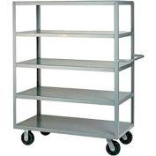 Little Giant® Multi-Shelf Truck 5M-2448-6PH, 5 Flush Shelves, 24 x 48