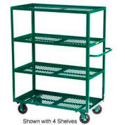 Little Giant® Multi-Shelf Nursery Cart 5MLP-3060-6MR-G, 5 Shelf, 30 x 60