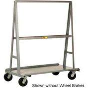 """Little Giant® """"A"""" Frame Sheet & Panel Truck AF2436-BK, 24 x 36 with Brake Wheels"""