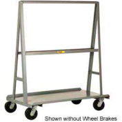 "Little Giant® ""A"" Frame Sheet & Panel Truck AF3048-BK, 30 x 48 with Brake Wheels"