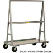 "Little Giant® ""A"" Frame Sheet & Panel Truck AF3672-BK, 36 x 72 with Brake Wheels"