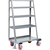 "Little Giant® ""A"" Frame Sheet & Panel Truck w/Back Shelf Storage, 24x48, 2000 lb Capacity"
