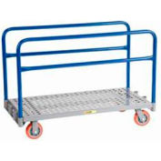 Little Giant® Adjustable Sheet & Panel Truck APTP-2448-6PY, Perforated Deck, 24 x 48