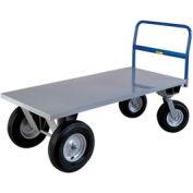 Little Giant® High Deck Cushion Load Platform Truck BB2448B 24x48 2500 Lb. Capacity
