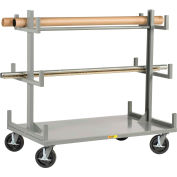 Little Giant® Portable Bar & Pipe Truck BRT-3672-8PHBK, 36 x 72