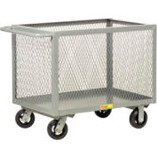 Little Giant® Box Truck BTX3048-6MR, Expanded Metal Sides, 30 x 48