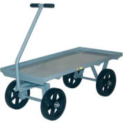 Little Giant® Wagon Truck CH-2448-12MR, Lip Deck, 24 x 48, Mold-on Rubber Wheels