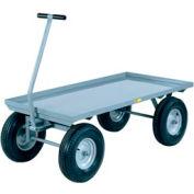 Little Giant® Wagon Truck CH-3048-12P - Lip Deck - 30 x 40 - Pneumatic Wheels - 2000 Lb.