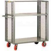 Little Giant® 2-Sided Adjustable Shelf Truck DET2-A-3060-6PY, 30 x 60