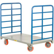 Little Giant® Double End Rack Platform Truck DR-3048-6PY, 30 x 48