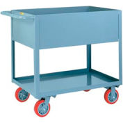 "Little Giant® Deep Shelf Truck DS2436X12-6PY, 12"" Deep, 24 x 36, 1200 Lb. Capacity"
