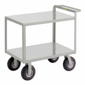Little Giant® Instrument Cart w/Hand Guard, Flush Shelves, 30 x 48