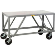 Little Giant® Extra Heavy-Duty 7 Gauge Mobile Table IPH-3060-8PHBK, 30 x 60
