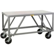 Little Giant® Extra Heavy-Duty 7 Gauge Mobile Table IPH-3672-8PHBK, 36 x 72