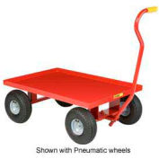 Little Giant® Nursery Wagon Truck LW-2436-10 - Steel Deck - 10 x 2.75 Rubber Wheel