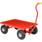 Little Giant® Nursery Wagon Truck LW-2436-10P Steel Deck 10 x 3.50 Rubber Wheel
