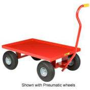 Little Giant® Nursery Wagon Truck LW-2436-8S Steel Deck 8 x 2.50 Rubber Wheel