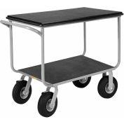 Little Giant® Mobile Instrument Cart, Tubular Frame 24x36 Pneumatic Wheels
