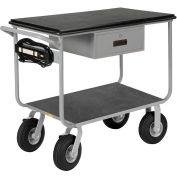 Little Giant® Mobile Work Center, Pneumatic Wheels