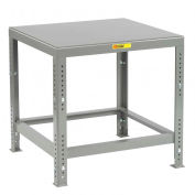 Little Giant MTH1-1630-AH  Heavy Duty Machine Table- Adjustable Height