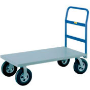 """Little Giant® Heavy Duty Platform Truck NBB-2460-10SR 24x60 10"""" Rubber Wheels, 1500 Lb."""