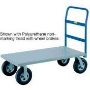 Little Giant® Heavy Duty Platform Truck NBB-2460-8MR - 24 x 60 - MORT Wheels - 2400 Lb.