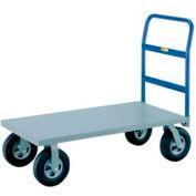 Little Giant® Heavy Duty Platform Truck NBB-3660-8PYBK - 36 x 60 - Poly Wheels - 3600 Lb. Cap.