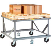 Little Giant® Fixed Height Pallet Stand PDF-42-6PH2FLLR - 42 x 48 Open Deck & Load Retainers