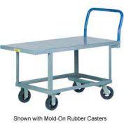 Little Giant® Work Height Platform Truck RNB-2448-6PY, 24 x 48, Polyurethane Wheels